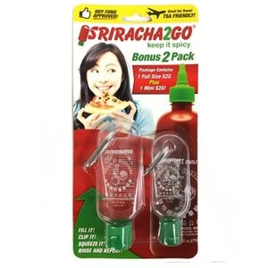 Sriracha2go keychains 🌶🔥